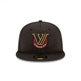 Valour FC New Era Black 59FIFTY Fitted Hat