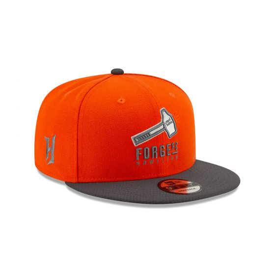 Forge FC New Era Orange 9FIFTY Snapback Hat
