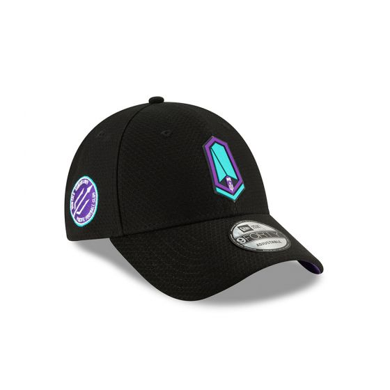 Pacific FC New Era Black 9FORTY Adjustable Snapback Hat