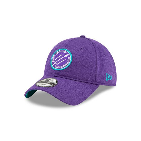 Pacific FC New Era Purple 9TWENTY Adjustable Hat