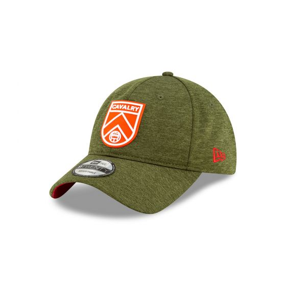 Cavalry FC Crest New Era Green 9TWENTY Adjustable Hat
