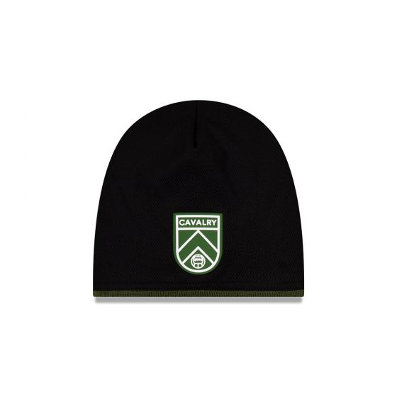Cavalry FC New Era Black Beanie