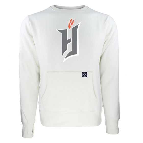 Women's Forge FC Primary Logo White Sweatshirt