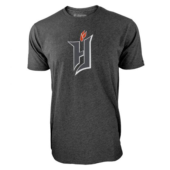 Men's Forge FC Primary Logo Charcoal T-Shirt