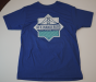 HFX Wanderers East Coast Lifestyle Primary Logo Royal Blue Adult T-Shirt