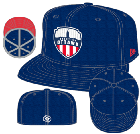 Atlético Ottawa New Era Blue 59FIFTY Fitted Hat