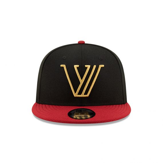 Valour New Era Black 9FIFTY Snapback Hat