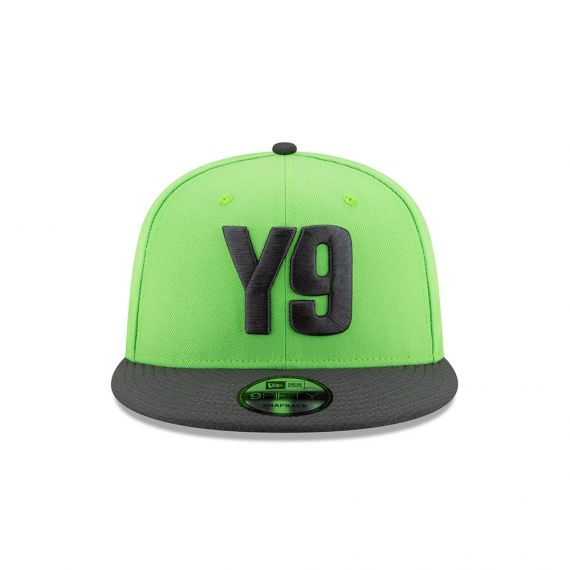 York 9 New ERA Green 9FIFTY Snapback Hat