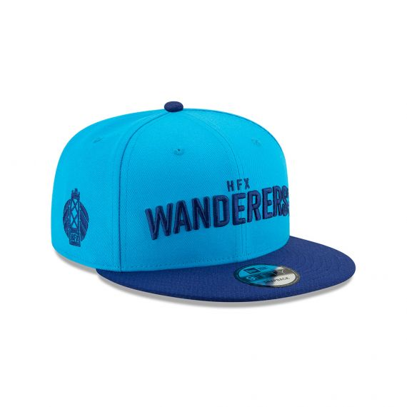 HFX Wanderers New Era Blue 9FIFTY Snapback Hat