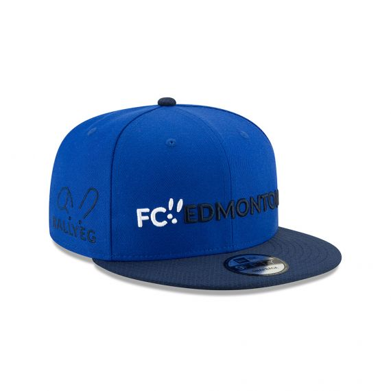 FC Edmonton New Era Blue 9FIFTY Snapback Hat