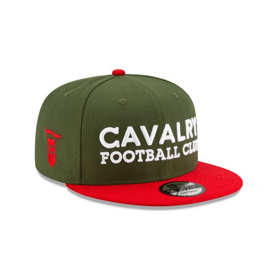 Cavalry FC New Era Green 9FIFTY Snapback Hat