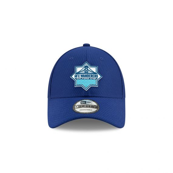 HFX Wanderers New Era Blue 9FORTY Adjustable Snapback Hat