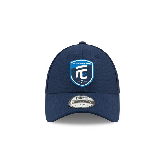 FC Edmonton New Era Blue 9FORTY Adjustable Snapback Hat