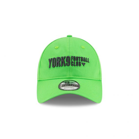 York 9 New Era Green 9TWENTY Adjustable Hat
