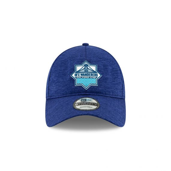 HFX Wanderers Crest New Era Blue 9TWENTY Adjustable Hat