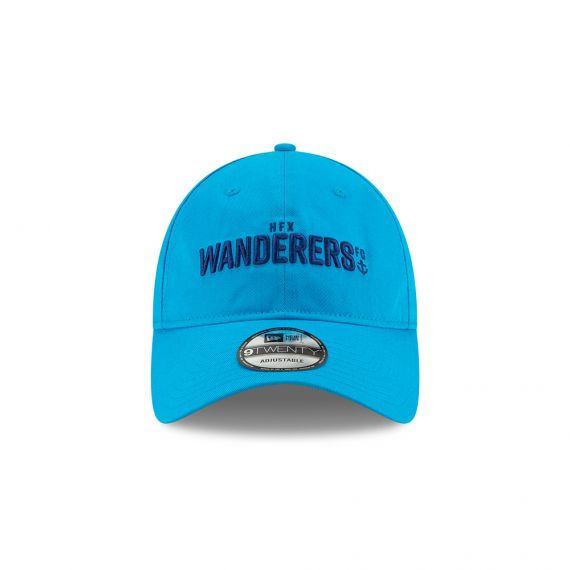 HFX Wanderers Wordmark New Era Blue 9TWENTY Adjustable Hat