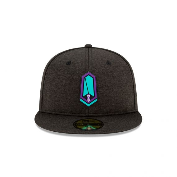 Pacific FC New Era Grey 59FIFTY Fitted Hat