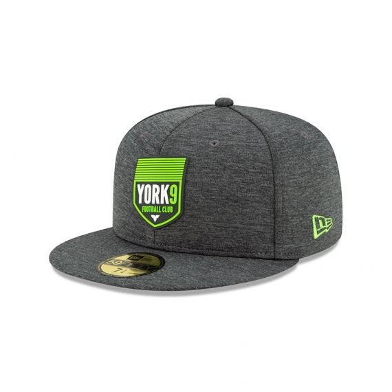 York 9 New Era Grey 59FIFTY Fitted Hat