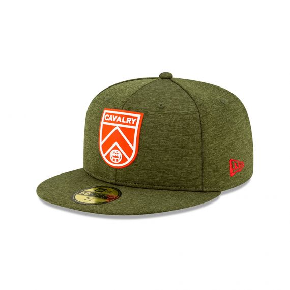 Cavalry FC New Era Grey 59FIFTY Fitted Hat