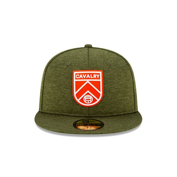 Cavalry FC New Era Green 59FIFTY Fitted Hat