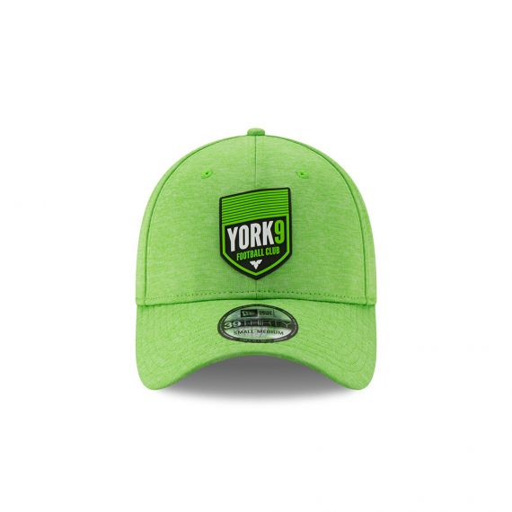 York 9 New Era Green 39THIRTY Flex Hat