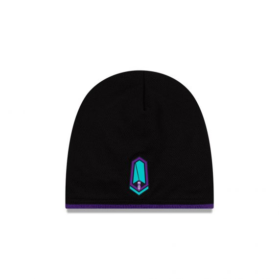 Pacific FC New Era Black Beanie