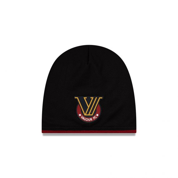 Valour FC New Era Black Beanie
