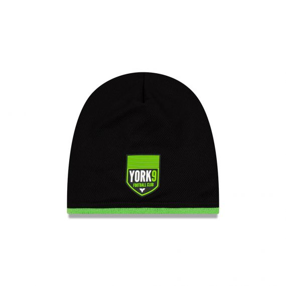 York 9 New Era Black Beanie