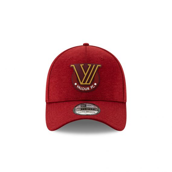 Valour FC New Era Red 39THIRTY Flex Hat