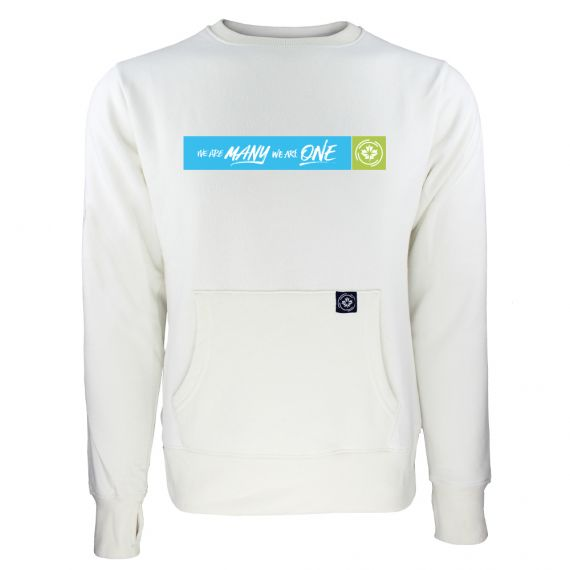 Women's Canadian Premier League Box Logo White Sweatshirt