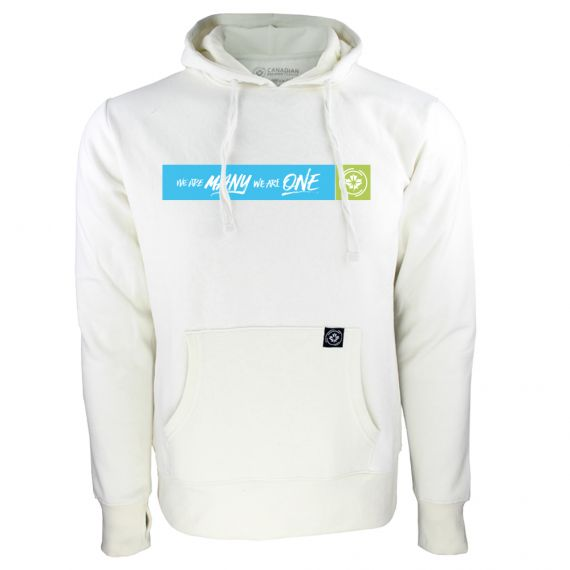 Women's Canadian Premier League Box Logo White Hoody