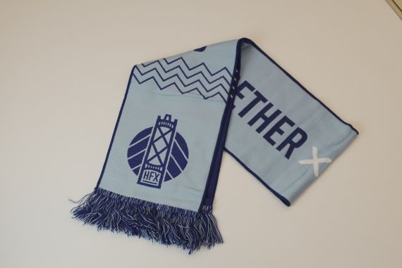 HFX Wanderers Double Sided Team Scarf