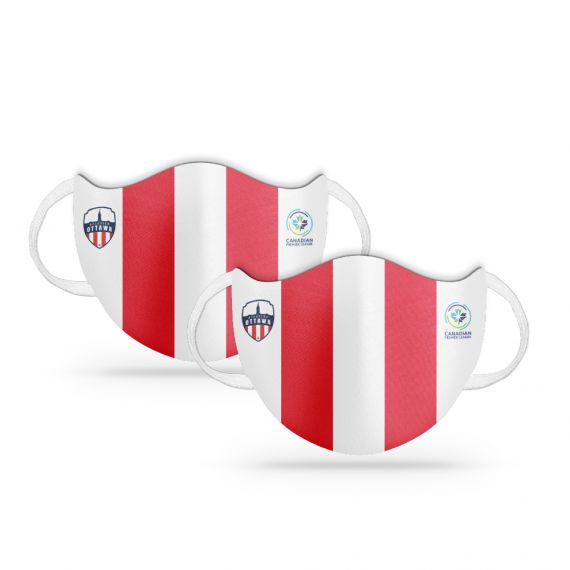 Atlético Ottawa Team Branded Face Covering - Set of 2