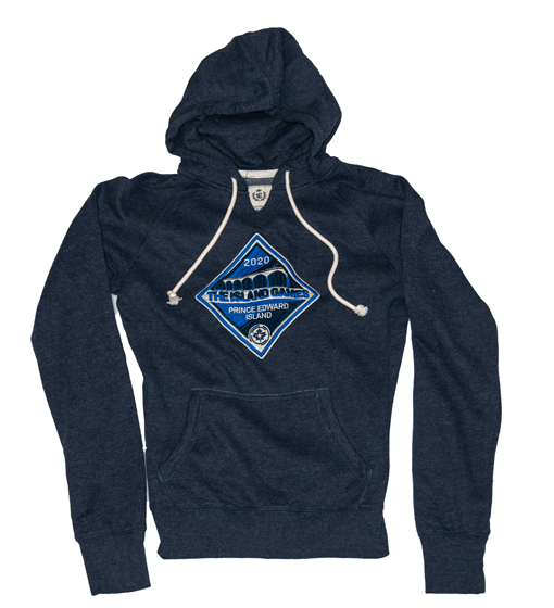 Women's CPL Island Games Navy Blue Hoody