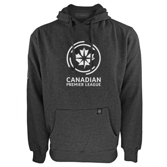 Men's Canadian Premier League Charcoal Hoody