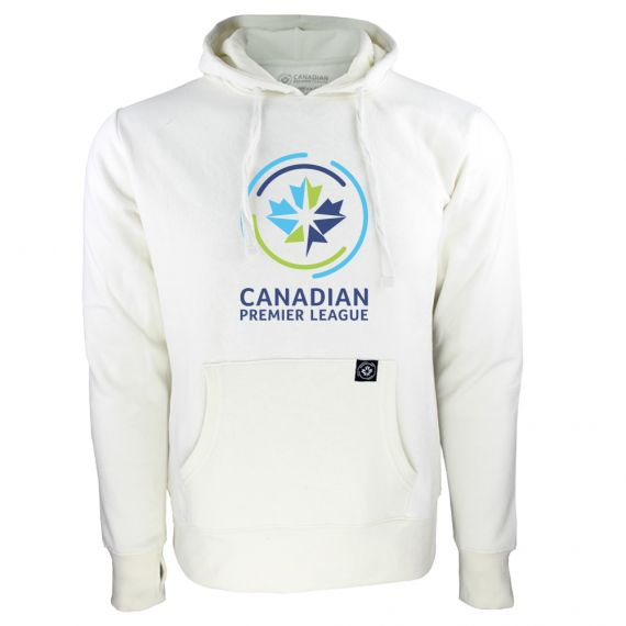Women's Canadian Premier League White Hoody