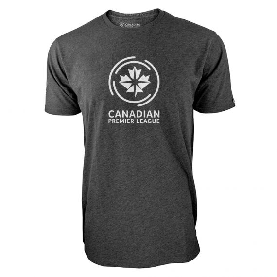 Men's Canadian Premier League Charcoal T-Shirt