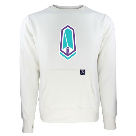 Women's Pacific FC Primary Logo White Sweatshirt