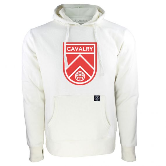 Women's Cavalry FC Primary Logo White Hoody