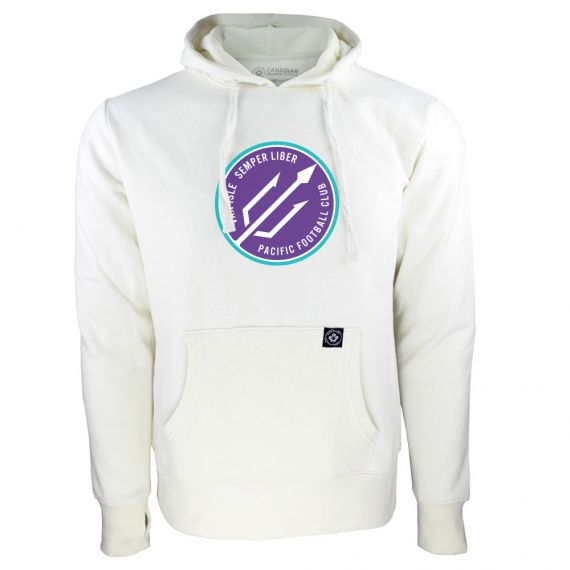 Women's Pacific FC Secondary Logo White Hoody