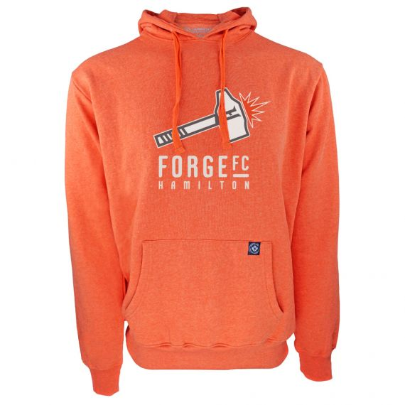 Men's Forge FC Secondary Logo Orange Hoody