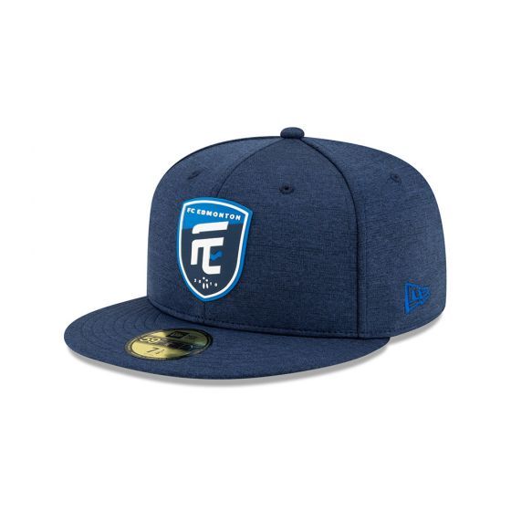 FC Edmonton New Era Blue 59FIFTY Fitted Hat