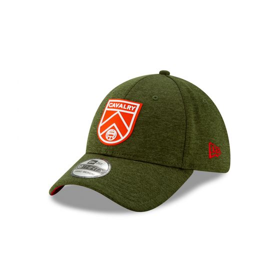 Cavalry FC New Era Green 39THIRTY Flex Hat