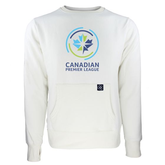 Women's Canadian Premier League White Sweatshirt