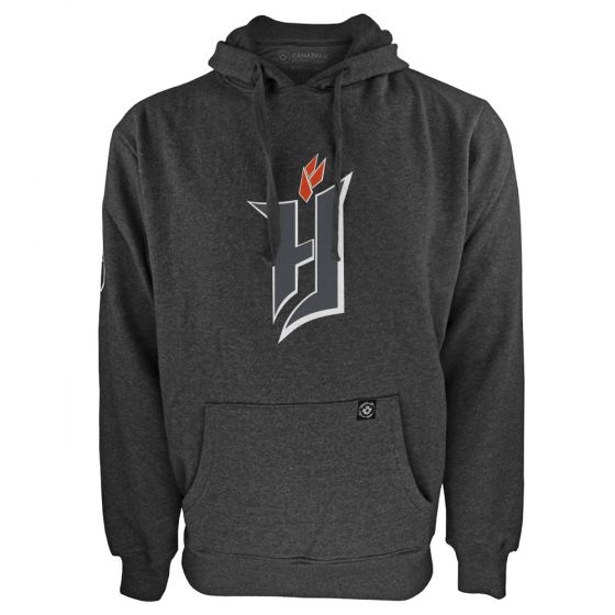 Men's Forge FC Primary Logo Charcoal Hoody
