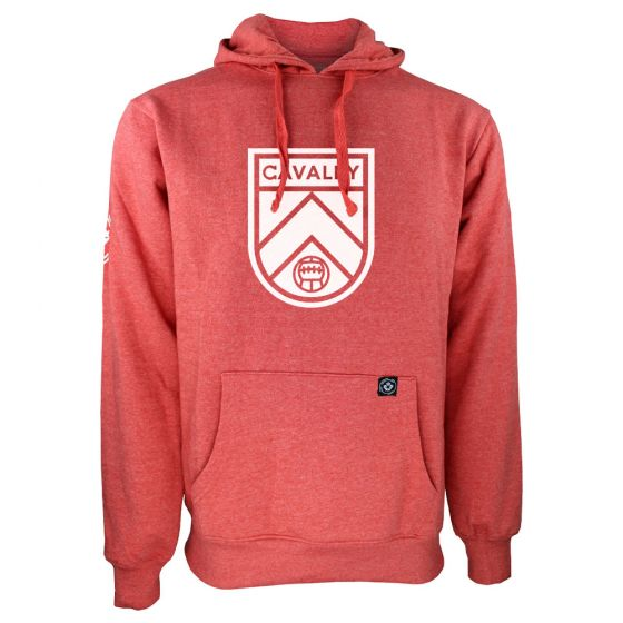 Men's Cavalry FC Primary Logo Red Hoody