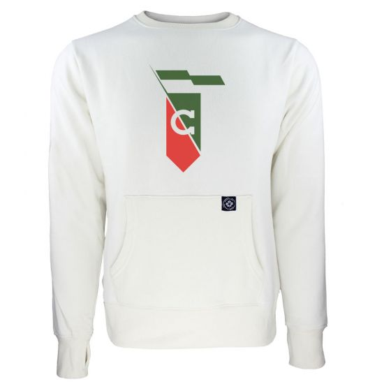 Women's Cavalry FC Secondary Logo White Sweatshirt